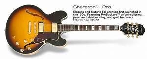 Epiphone Sheraton Ii Pro Vintage Sunburst Chitarra