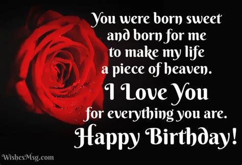 Happy Birthday Wishes Girlfriend