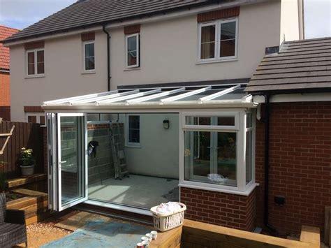 upvc conservatory aluminium bifold doors newent