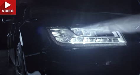 audi matrix headlights what are audi 39 s led matrix headlights like on the road