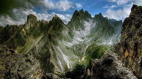 dolomites mountains cadini  misurina hd wallpaper