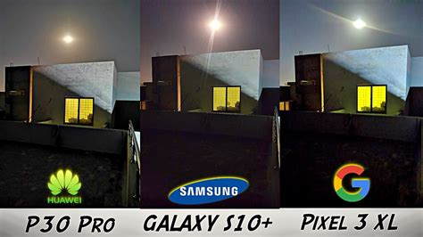 samsung galaxy  official night mode review  huawei