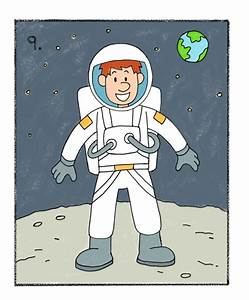 How to Draw an Astronaut - Easy Drawing Tutorials for Kids