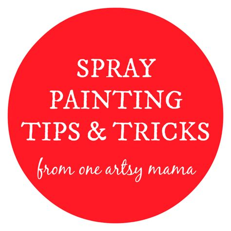 spray paint tips june 2014 page 5 of 6 one artsy mama