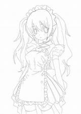 Maids sketch template