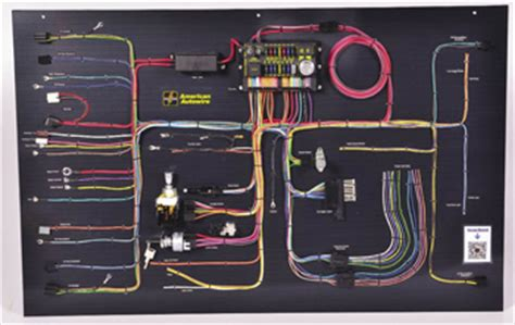 American Auto Wire Wiring Diagram by New Restoration Products Sema