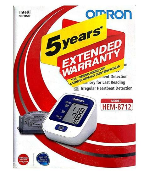 Omron HEM-8712 Digital Automatic BP Monitor: Buy Omron HEM