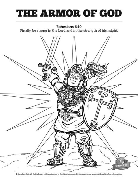 armor of god coloring pages 1000 ideas about armor of god on belt of
