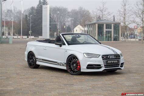 Rs3 Convertible by Official Mtm Audi S3 Cabriolet Gtspirit