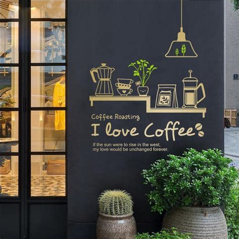 Bon appetit vinyl kitchen lettering wall. DCTAL Milk tea Coffee Shop Cafes Ice Cream Bread Cake ...