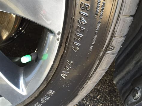 Scraped, But No Damage To Tire. Rules Out Road Rash. From