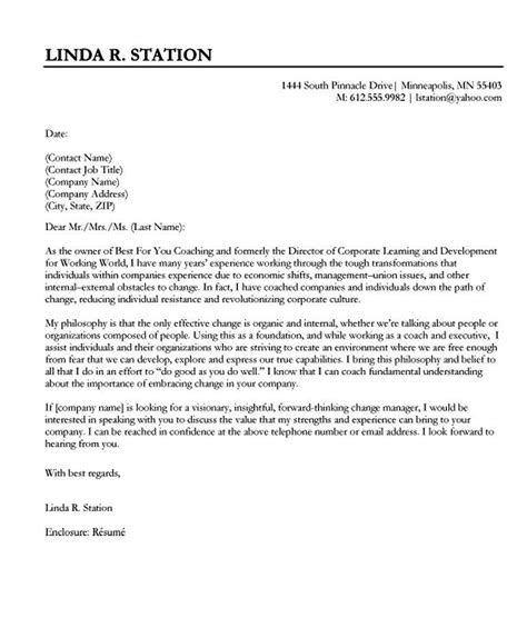 Sle Of A General Cover Letter by Resume Exle Exle Cover Letters Easy For Sales
