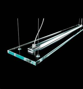 Suspended glass ceiling light lighting envy for Suspended lighting