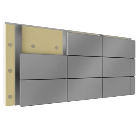cassette alluminio cad and bim object overcladding with steel or aluminium