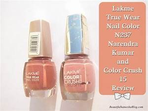 Lakme True Wear Nail Color N237 Narendra Kumar and Color ...