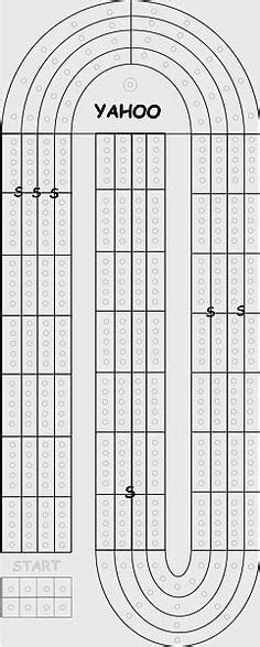 cribbage template make a cribbage board the weekend project as pdf template also