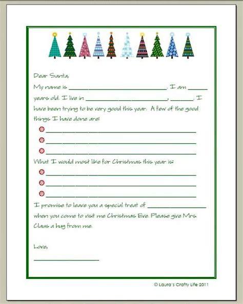 letter  santa   printable silent night santa
