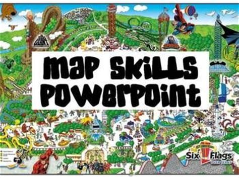map skills powerpoint compass rose maps   compass