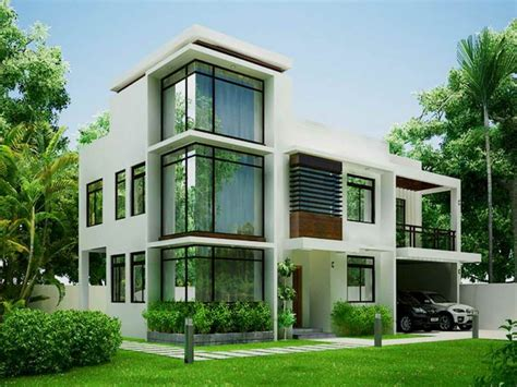 modern houses plans green modern contemporary house designs philippines jpg