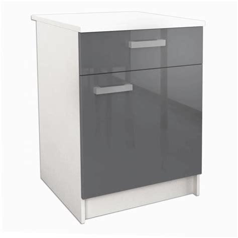 meuble plan travail cuisine start meuble bas de cuisine l 60 cm avec plan de travail