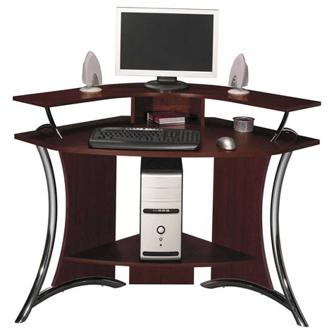 Corner Computer Desk For Effective Space My Office Ideas