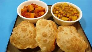 Puri or Luchi | Indian Puffed Bread | Indian Cuisine - YouTube