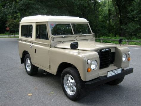 purchase used 1981 land rover series 3 diesel 2 25 excellent condition in kensington maryland