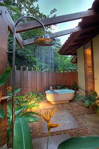 Outdoor, Bathroom, In, The, Middle, Of, The, Jungle