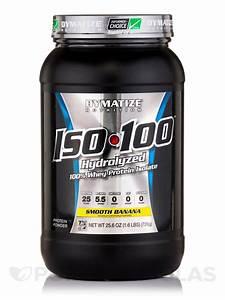 Iso-100 U00ae Hydrolyzed 100  Whey Protein Isolate  Smooth Banana Flavor