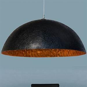 Pendelleuchte Schwarz Gold : designer h ngeleuchte moonrise 50cm schwarz gold h ngelampe pendelleuchte ebay ~ Frokenaadalensverden.com Haus und Dekorationen