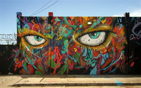 american mural artists abstrk new mural in miami usa streetartnews streetartnews