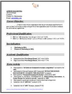 Today S Resumes Sles by Resume Sle Simple De9e2a60f The Simple Format Of Resume