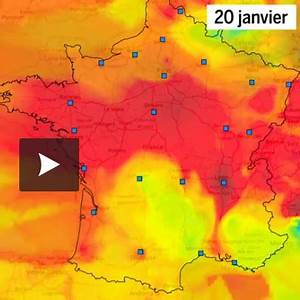 Carte France Pollution : pollution de l 39 air la carte de france sous particules fines ~ Medecine-chirurgie-esthetiques.com Avis de Voitures