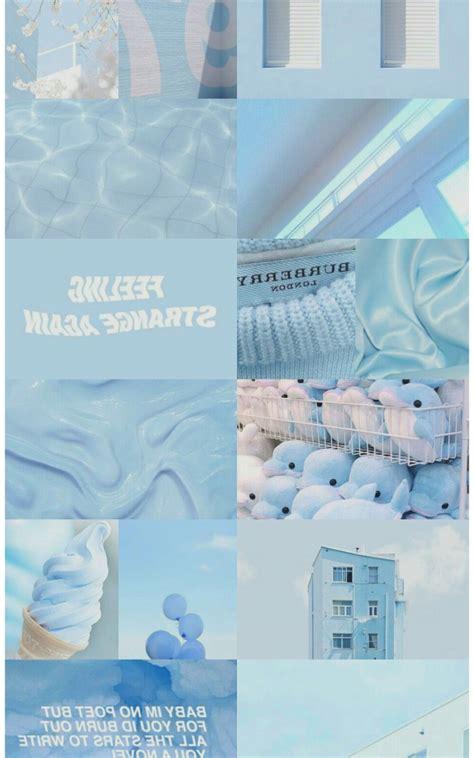 free blue aesthetic desktop wallpaper aesthetic