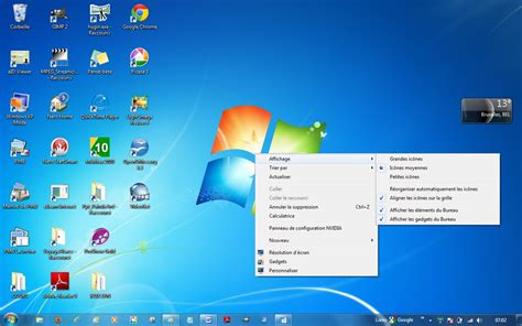 personnaliser bureau windows 7 chap 2 windows 7
