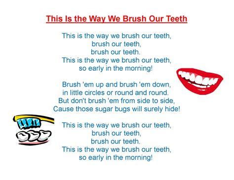 dental hygiene wee bee reads 407 | song 2