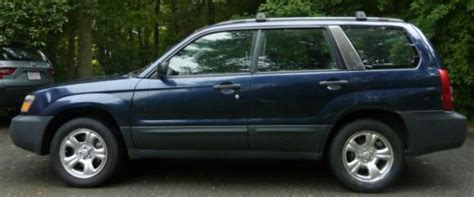 Find Used 2005 Subaru Forester X Wagon 4-door 2.5l In