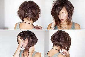 Comment Se Couper Les Cheveux Court Toute Seule : coupe carr d grad derri re ~ Melissatoandfro.com Idées de Décoration