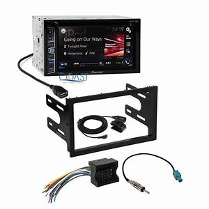 Pioneer 2016 Radio Stereo 2din Dash Kit Harness For 02