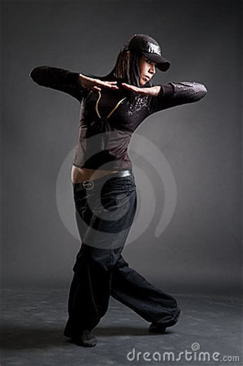danse attrayante de fille de hip hop photos stock image 7762953