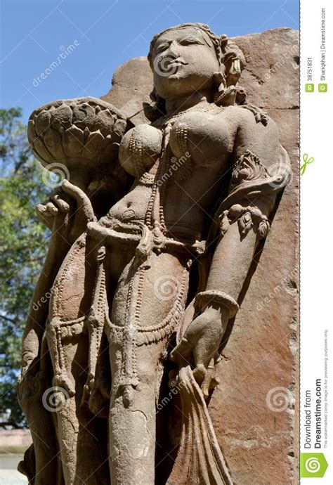 historic stone art  india madhya pradesh stock image
