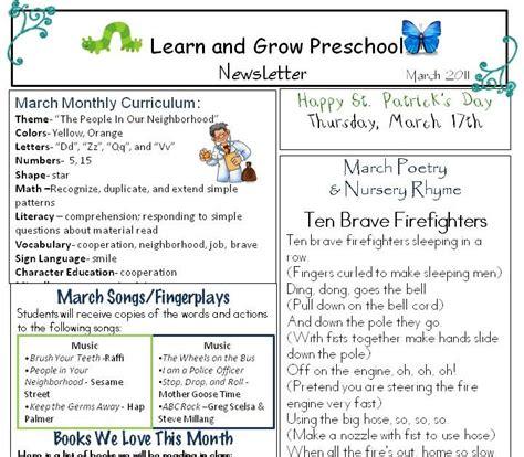 learn and grow designs website march preschool newsletter 937 | March%2B2011%2BLGP%2BNewsletter
