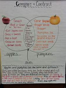 Fall Compare And Contrast Writing About Pumpkins And
