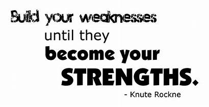 Weaknesses Build Quotes Word Analysis Weakness Strength