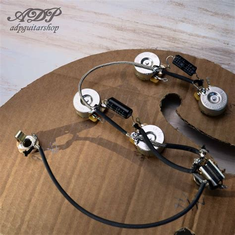 kit electro cable es 335 vintage wiring harness gibson epiphone es 330 ebay