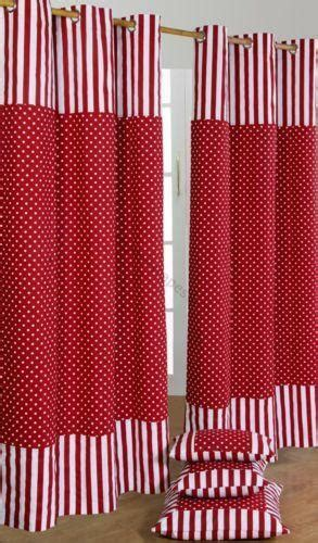 ready  spotted curtains ebay