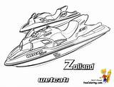 Coloring Boat Ski Doo Jet Sheets Printables Water Yescoloring Template Watercraft Zolland Coolest Sketch sketch template
