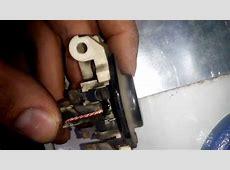 wymiana szczotek alternatora passat b4 bosh voltage