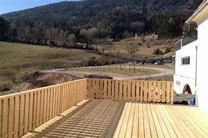 Geländer Holz Terrasse : terrassen aus holz f r ihre erholung im garten ~ Watch28wear.com Haus und Dekorationen
