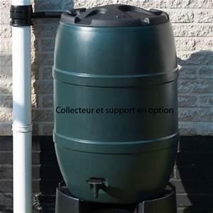 Recupérateur Eau De Pluie : r cup rateur eau de pluie nature tonneau 120 ou 210 litres ~ Dailycaller-alerts.com Idées de Décoration